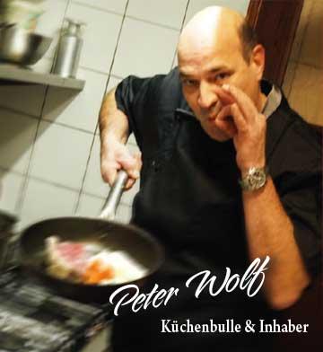 Peter Wolf - Küchenbulle und Inhaber des Zwölf Apostel in Düsseldorf