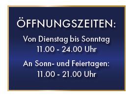 Aktuelle Öffnungszeiten Zwölf Apostel Düsseldorf
